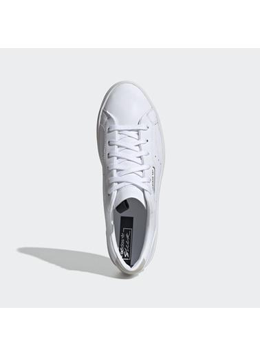 adidas Sleek Beyaz